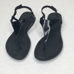 Cole Haan Black Sandals with Nike Air Bottoms